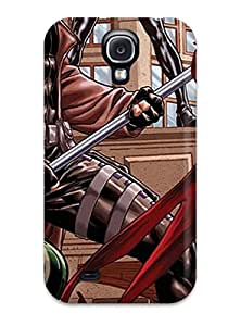 Durable Protector Case Cover With Rogue From X-men Hot Design For Galaxy S4 With Free Screen Protector