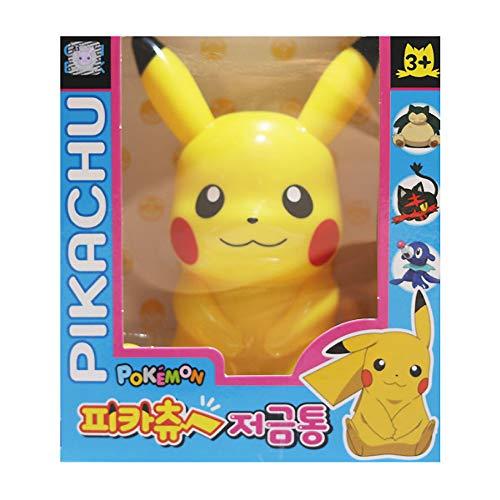 Pikachu Pocket Monster Figure Plastic Coin Piggy Bank