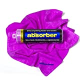 """Absorber 44149The Synthetic Drying Chamois, 27"""" x 17"""", Purple"""