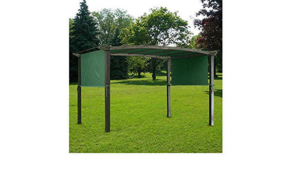 Pérgola 17 x 6, 5 pies), color verde: Amazon.es: Jardín
