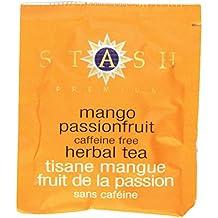 Stash Tea Mango Passionfruit Herbal Tea, 100 Count Box of Tea Bags in Foil (packaging may vary)