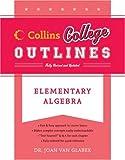 Elementary Algebra, Joan Van Glabek, 0060881488
