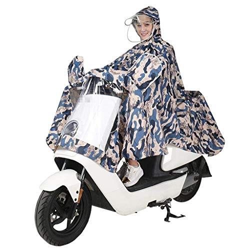 Para Chaqueta Aleros Moda Sudadera Y Lady Libre Poncho Battercake Aire Motocicleta Lluvia Impermeable Única La Mujer Camuflaje Al Casual YgBx5dqw