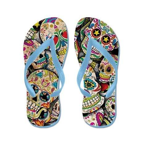 061e9102ee08 Amazon.com | Lplpol Flip Flops for Kids Adult Beach Sandals Pool Shoes  Party Slippers Black Pink Blue Belt for Chosen | Sandals