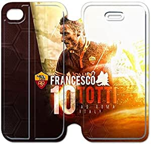 Leather Smart Cover With Flip Stand Phone Case iphone 6 6S 4.7 inch-francesco totti-9