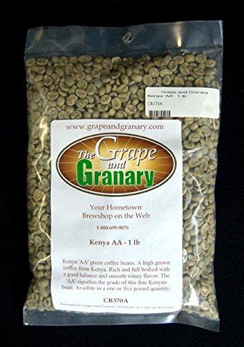 Kenya AA unroasted Coffee Beans (1LB)