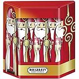 Riegelein Solid St. Nicholas in Gift Box - 10 Pieces