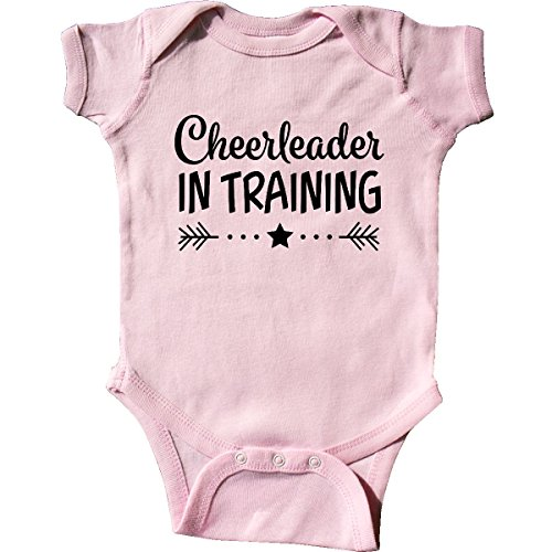 (inktastic - Cheerleader in Training Infant Creeper 6 Months Pink 2c4ca)