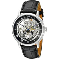 Lucien Piccard Leather Band Mens Watch