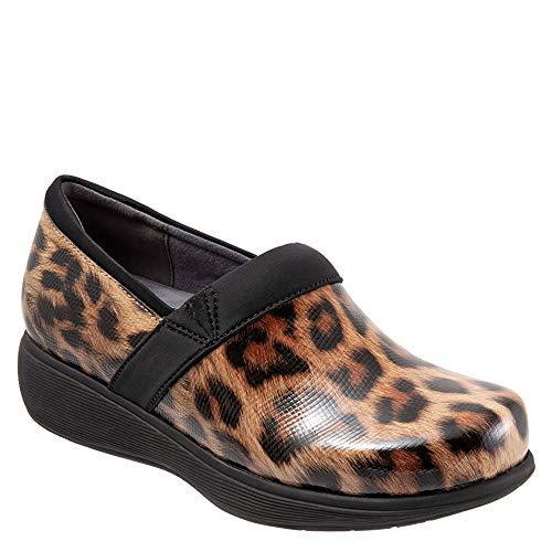 Leopard Women's Clog SoftWalk Meredith tan TFUnpw