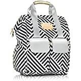 Designer Diaper Bag Backpack by MB Krauss - Large Women's Diapering Backpack with Multiple Pockets, Luxurious Design