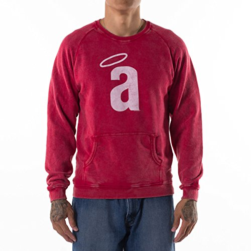 Red Jacket MLB Los Angeles Angels Pig Pen Crew Sweatshirt