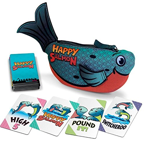 Happy Salmon: Blue Fish