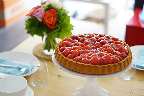 Gifts Delight Laminated 36x24 inches Poster: Strawberry Cake Summer Red Eat Bake