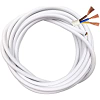 Cable Eléctrico de 3 Núcleos Redondo de PVC