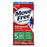 Move Free Advanced Plus MSM with Glucosamine & Chondroitin , 120 Count (Pack of 2)
