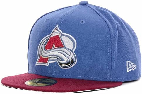f57683eea83 New Era Colorado Avalanche 2-Tone 59FIFTY Fitted NHL Cap 7 1 4   Amazon.co.uk  Sports   Outdoors