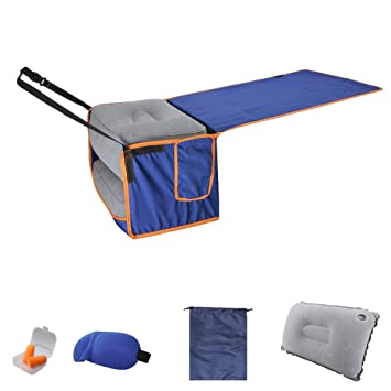 Amazon.com: Inflable de viaje pierna pie Resto Almohada y ...