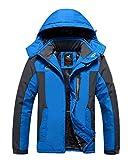 #7: HOOHAY Men's and Women's Waterproof Mountain Fleece Outdoor Jacket