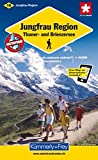 Jungfrau Region Hiking Map