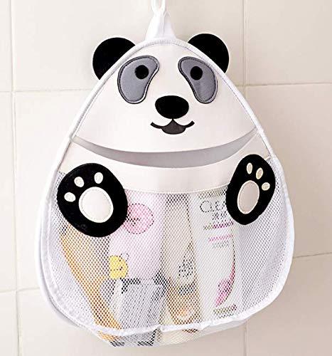 Fine Cartoon Panda Baby Bathroom Mesh Bag Child Bath Toy Bag Net Creativecarmelina Interior Chair Design Creativecarmelinacom