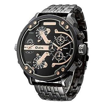 Relojes Hermosos, Oulm Hombre Reloj Deportivo Reloj Militar Reloj de Vestir Reloj de Moda Reloj de ...