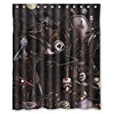 jack skellington the nightmare before christmas SKCASE Custom shower curtain 60x72 inch