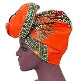 African Head Wraps 43''x35'' African Wax Print Head Scarf Tie Women