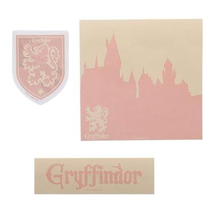 Amazon.com : Gryffindor Stationary Harry Potter Sticky Notes ...