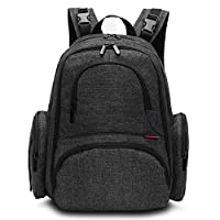 CoolBELL Baby Diaper Backpack With Insulated Pockets / Large Size Water-resis...