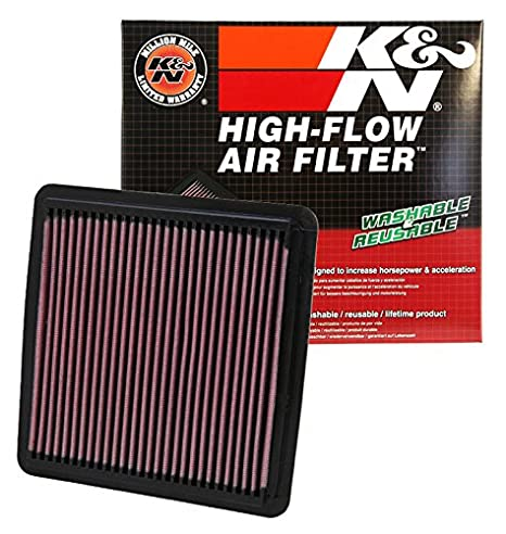 .com: k&n 33-2304 high performance replacement air filter for ...