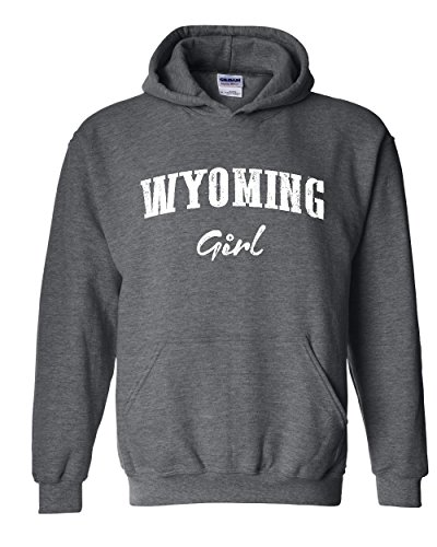 WY Girl Wyoming Cheyenne Map Cowboys & Cowgirls Home University Of Wyoming Men's Hoodies Sweater