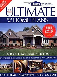 the new ultimate book of home plans lowes branded