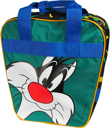 Sylvester 1 Ball Bowling Bag - Holds Shoes - by Brunswick by Brunswick