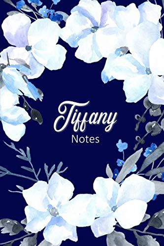 Tiffany Notes: Personalized Journal with Name with Feminine Interior