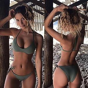 RAISINGTOP-Bikini-de-primavera-baador-separado-acolchado-y-slido-dos-piezas-elstico-XS