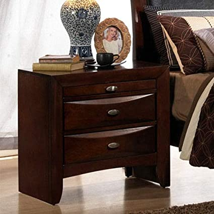Amazon.com: KCHEX>>>3 Drawers Nightstand End Beside Table Sofa Side ...