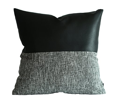 Black Leather Sofa Throw Pillows: Top 10 Throw Pillows For Black Leather Couch Of 2019