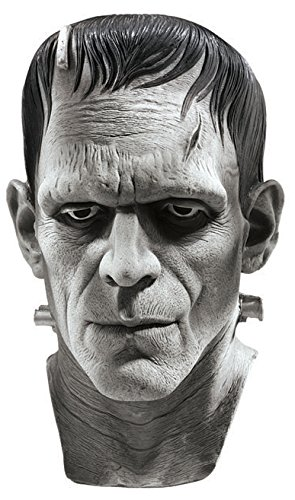 Universal Studios Silver Screen Edition Frankenstein Mask, Multi Color, One Size by Rubie's