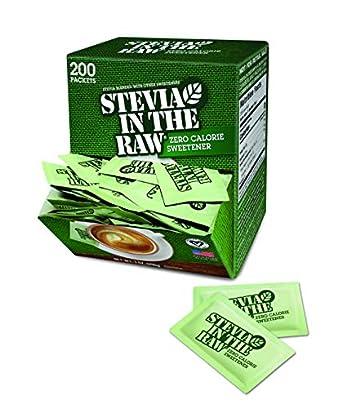 Amazon.com: Stevia in the Raw 76014CT edulcorante, bolsa de ...