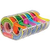 Really Good Stuff E.Z.C. Fluorescent Highlighter Tape 6-Color Multipack