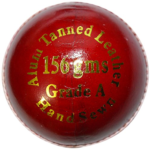 Kookaburra Gold King Cricket Ball, Red (Best Cricket Ball Brand In India)