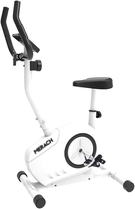 Elíptica transversal a la máquina Trainer Home Silencio paso a paso Spinning control magnético casa en bicicleta bicicleta estática cubierta equipos de gimnasia 110kg portante blanca adelgaza elíptica: Amazon.es: Deportes y aire