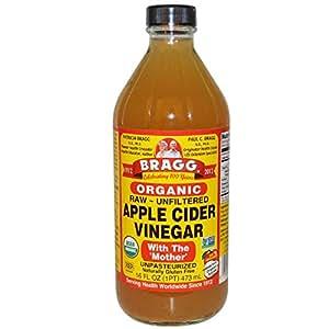 Amazon.com : Bragg Organic Unfiltered Apple Cider Vinegar