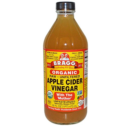 Bragg Organic Unfiltered Apple Cider Vinegar - 16 Ounce (3 Pack)