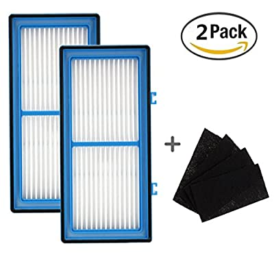Noeeyi AER1 Filter For Holmes Total Air Filter, HAPF30AT With Holmes AER1 Total Air For Purifier HAP242-NUC(2 Pack)