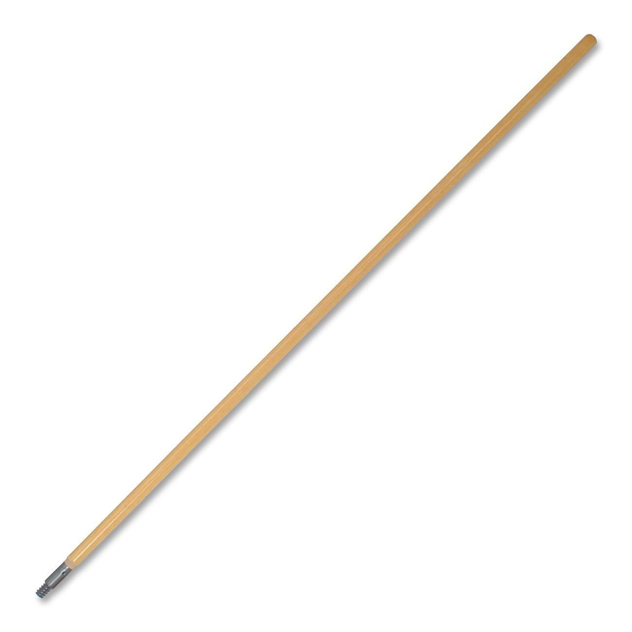 Genuine Joe GJO60468 Wood Floor Broom Handle, 1-1/8 Diameter x 60'' Length, Oak
