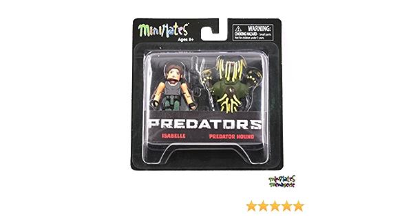 Predator Minimates Series 4 Isabelle /& Predator Hound