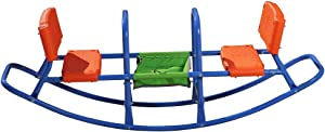 Kids Teeter Totter Outdoor Seesaw: Play - Children, Boys, Girls, Kid, Youth Ride ON Toy Living Room, Lawn, Backyard, Playground Gifts, Party Ages 3 4 5 6 Rocking HIGH Chair