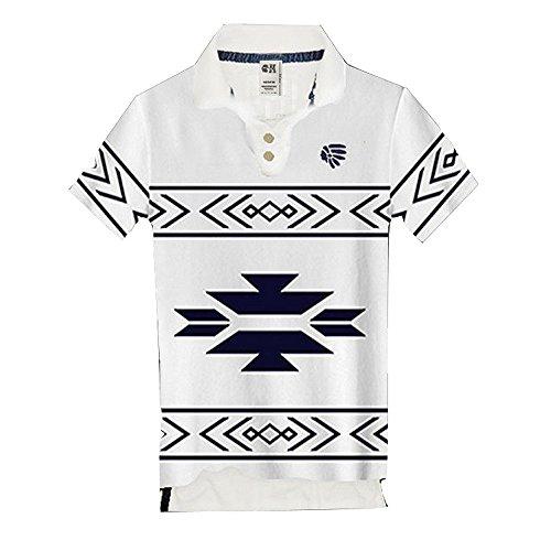 (カリホリ) Cali Holi ポロシャツ メンズ 半袖 大きいサイズ ゴルフ 綿100 ワンポイント 夏 アメカジの王道